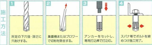 ユニコンアンカー施工図
